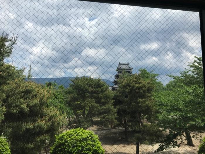 松本城の超近場!そば屋「そば庄松本城店」