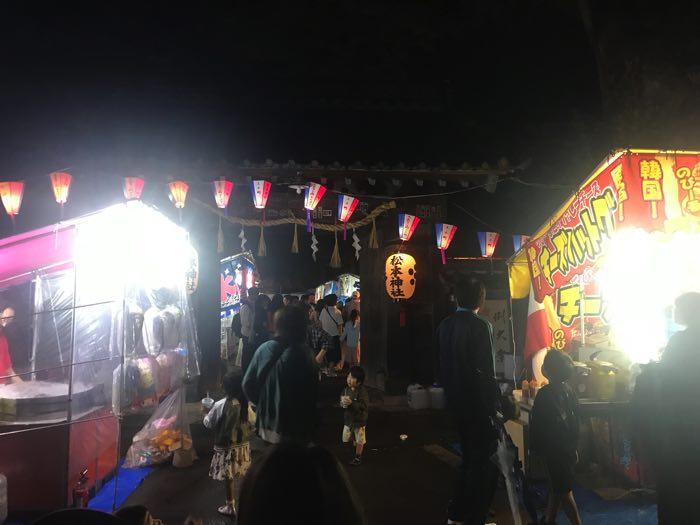 松本神社祭り