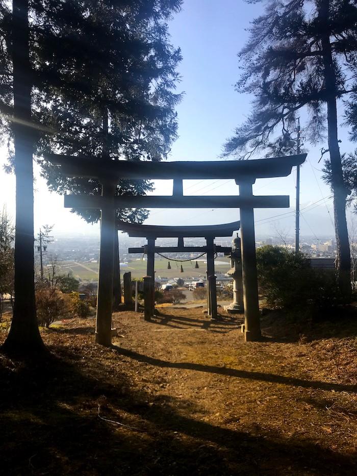まつもと里山キャンプ場米澤神社